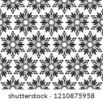 abstract geometric pattern with ... | Shutterstock .eps vector #1210875958