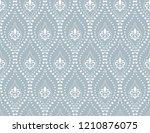 the geometric flower pattern... | Shutterstock .eps vector #1210876075