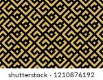 abstract geometric pattern. a... | Shutterstock .eps vector #1210876192