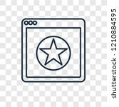ranking concept vector linear...   Shutterstock .eps vector #1210884595