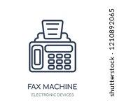 fax machine icon. fax machine... | Shutterstock .eps vector #1210892065