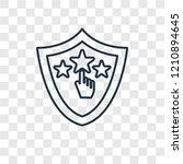 ranking concept vector linear...   Shutterstock .eps vector #1210894645