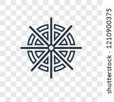 dharma concept vector linear... | Shutterstock .eps vector #1210900375