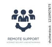 remote support icon. trendy... | Shutterstock .eps vector #1210907875