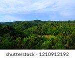 green mountain landscape view... | Shutterstock . vector #1210912192