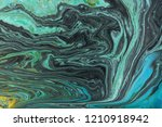 marble abstract acrylic... | Shutterstock . vector #1210918942