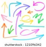 flecha,hacia atrás,pincel,círculo,colección,colorido,curva,dirección,abajo,dibujo,dibujado,elemento,pluma de punta de fieltro,hacia delante,mano