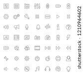 big set of ui   ux icons vector ...