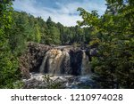 Little Manitou Falls is a 30 foot drom into the Black River in Wisconsin