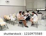 chulalongkorn university ... | Shutterstock . vector #1210975585