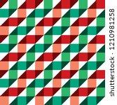 seamless christmas gift... | Shutterstock .eps vector #1210981258