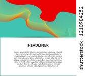 abstract modern banner... | Shutterstock .eps vector #1210984252