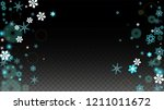 winter vector background with... | Shutterstock .eps vector #1211011672
