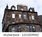 edinburgh  scotland   ... | Shutterstock . vector #1211029042