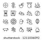 Chinese New Year Icons Set ...