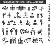 business management and... | Shutterstock .eps vector #1211051182