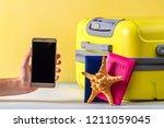 online booking. booking tickets ... | Shutterstock . vector #1211059045