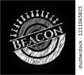 beacon chalk emblem | Shutterstock .eps vector #1211065825