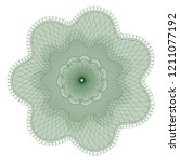 guilloche pattern  watermark ... | Shutterstock .eps vector #1211077192