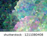 low poly mosaic background.... | Shutterstock .eps vector #1211080408