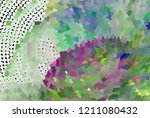 low poly mosaic background.... | Shutterstock .eps vector #1211080432