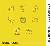 build icons set with automotive ...