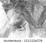 monochrome abstract fractal... | Shutterstock . vector #1211126278