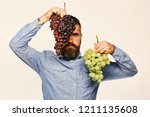 winemaking and autumn concept....   Shutterstock . vector #1211135608