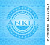 ankle water concept style... | Shutterstock .eps vector #1211164675