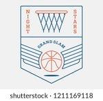 basketball night stars is a... | Shutterstock .eps vector #1211169118