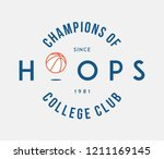 basketball hoops is a vector... | Shutterstock .eps vector #1211169145