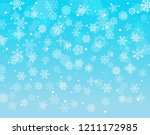 winter background with... | Shutterstock .eps vector #1211172985