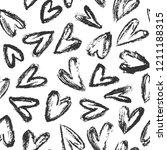 hand drawn vector brush drawing ... | Shutterstock .eps vector #1211188315