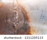 rust and corrosion in the... | Shutterstock . vector #1211205115
