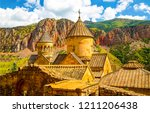 armenian church view. church in ... | Shutterstock . vector #1211206438