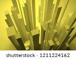 colorful lighting  pillar block ... | Shutterstock . vector #1211224162