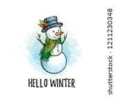 hello winter poster. cute...