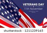 11th november   veterans day.... | Shutterstock .eps vector #1211239165