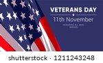 11th november   veterans day....   Shutterstock .eps vector #1211243248