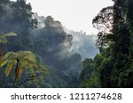 sunrise and sunbeam reflected... | Shutterstock . vector #1211274628