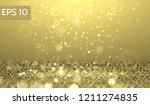 yellow glitter lights vector...   Shutterstock .eps vector #1211274835