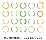 collection of different... | Shutterstock .eps vector #1211277208