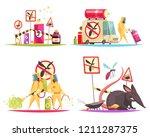 pest control design concept... | Shutterstock .eps vector #1211287375