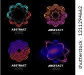 vector logo design elements set ... | Shutterstock .eps vector #1211294662