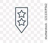 rank vector outline icon...   Shutterstock .eps vector #1211319562