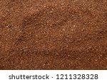 ground coffee texture | Shutterstock . vector #1211328328