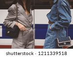 october 2  2018  paris  france  ...   Shutterstock . vector #1211339518