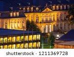 detail of neues schloss  new... | Shutterstock . vector #1211369728