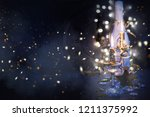 happy new year 2019  christmas... | Shutterstock . vector #1211375992