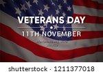 11th november   veterans day.... | Shutterstock .eps vector #1211377018